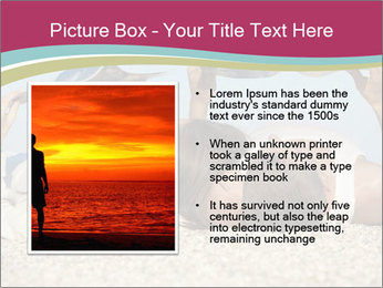 Couple On Coastline PowerPoint Template - Slide 13