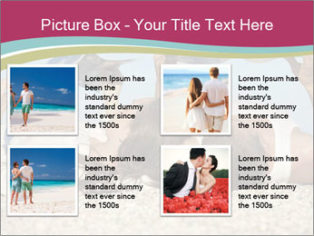 Couple On Coastline PowerPoint Template - Slide 14