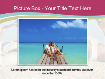 Couple On Coastline PowerPoint Template - Slide 15