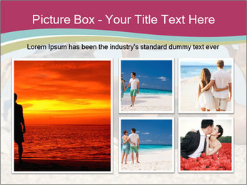 Couple On Coastline PowerPoint Template - Slide 19