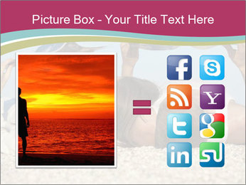 Couple On Coastline PowerPoint Template - Slide 21