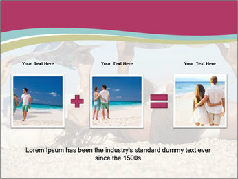 Couple On Coastline PowerPoint Template - Slide 22