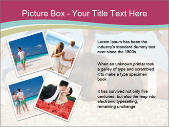 Couple On Coastline PowerPoint Template - Slide 23
