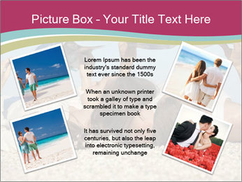 Couple On Coastline PowerPoint Template - Slide 24