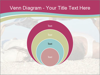 Couple On Coastline PowerPoint Template - Slide 34