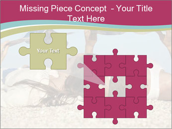 Couple On Coastline PowerPoint Template - Slide 45