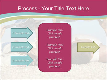 Couple On Coastline PowerPoint Template - Slide 85