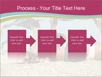 Couple On Coastline PowerPoint Template - Slide 88