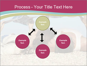 Couple On Coastline PowerPoint Template - Slide 91