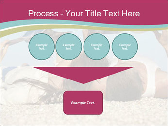 Couple On Coastline PowerPoint Template - Slide 93