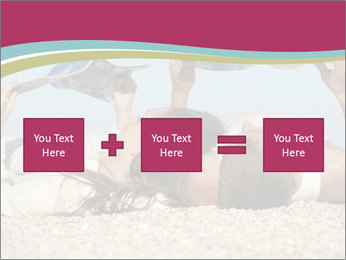 Couple On Coastline PowerPoint Template - Slide 95