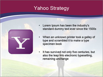 Businessman And Highway PowerPoint Templates - Slide 11