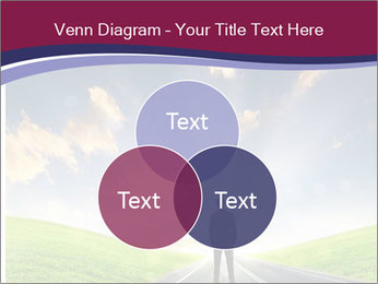 Businessman And Highway PowerPoint Templates - Slide 33
