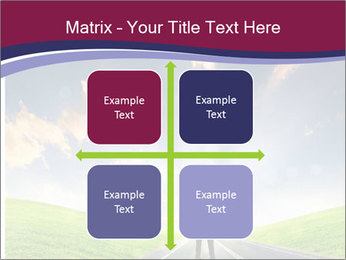 Businessman And Highway PowerPoint Templates - Slide 37