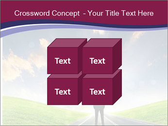 Businessman And Highway PowerPoint Templates - Slide 39