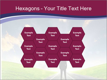 Businessman And Highway PowerPoint Templates - Slide 44
