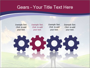 Businessman And Highway PowerPoint Templates - Slide 48