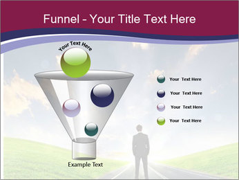 Businessman And Highway PowerPoint Templates - Slide 63