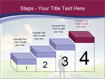 Businessman And Highway PowerPoint Templates - Slide 64