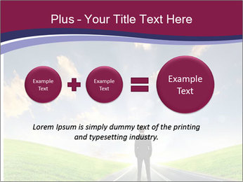 Businessman And Highway PowerPoint Templates - Slide 75