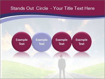 Businessman And Highway PowerPoint Templates - Slide 76