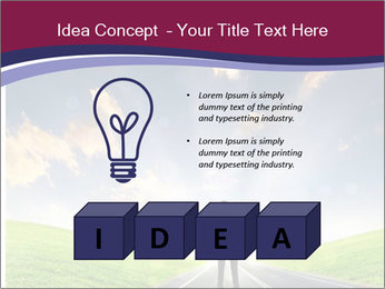 Businessman And Highway PowerPoint Templates - Slide 80
