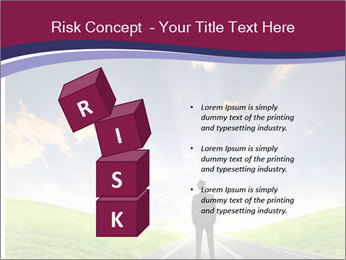 Businessman And Highway PowerPoint Templates - Slide 81