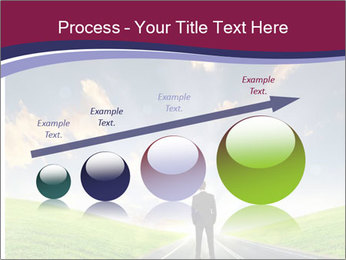 Businessman And Highway PowerPoint Templates - Slide 87