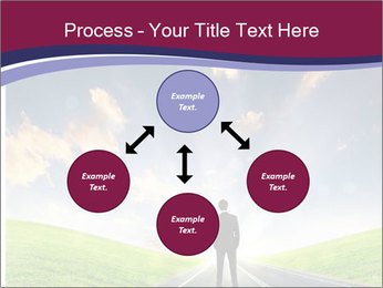 Businessman And Highway PowerPoint Templates - Slide 91