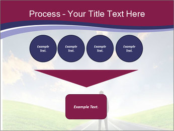 Businessman And Highway PowerPoint Templates - Slide 93