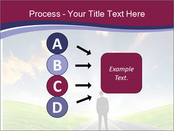 Businessman And Highway PowerPoint Templates - Slide 94
