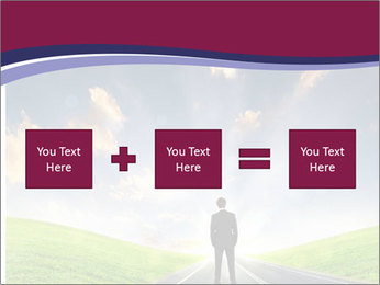 Businessman And Highway PowerPoint Templates - Slide 95