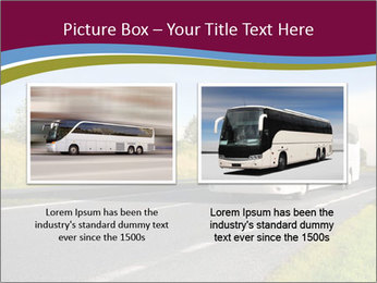 White Tourist Bus PowerPoint Template - Slide 18