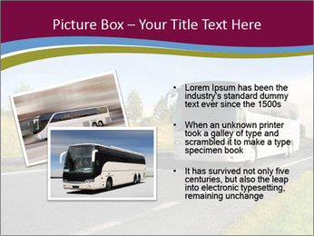 White Tourist Bus PowerPoint Template - Slide 20