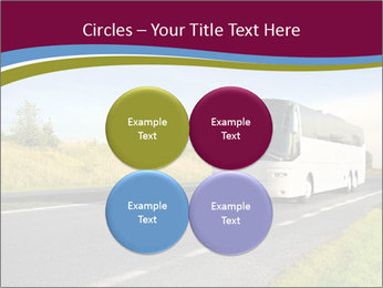 White Tourist Bus PowerPoint Template - Slide 38