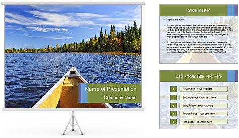 Beautiful Pristine PowerPoint Template