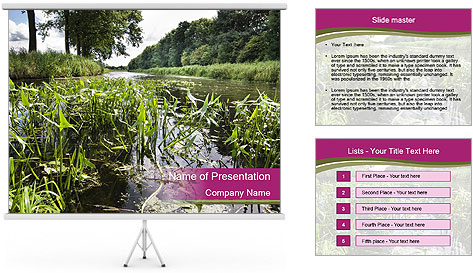 Holland Suburb PowerPoint Template