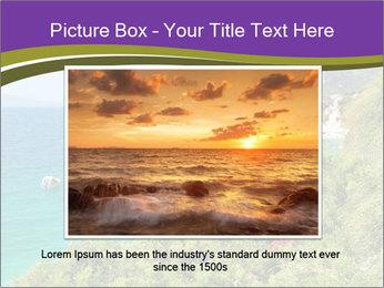 Mediterranean Coastline PowerPoint Template - Slide 15