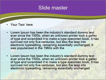 Mediterranean Coastline PowerPoint Template - Slide 2