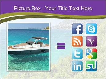 Mediterranean Coastline PowerPoint Templates - Slide 21