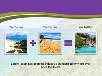 Mediterranean Coastline PowerPoint Templates - Slide 22