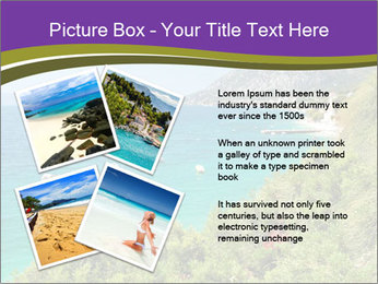 Mediterranean Coastline PowerPoint Template - Slide 23
