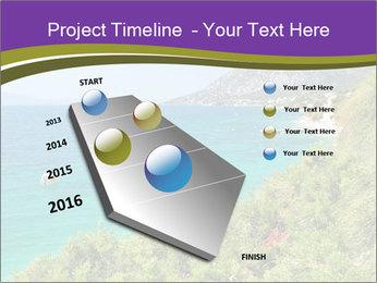 Mediterranean Coastline PowerPoint Templates - Slide 26