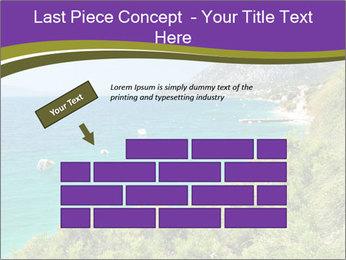 Mediterranean Coastline PowerPoint Template - Slide 46