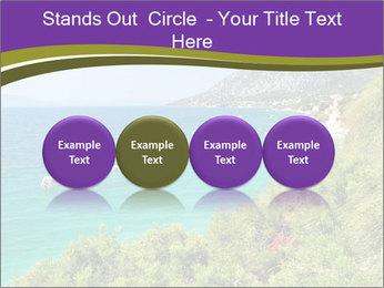 Mediterranean Coastline PowerPoint Template - Slide 76