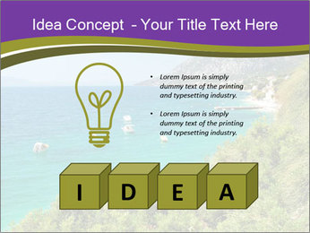 Mediterranean Coastline PowerPoint Template - Slide 80