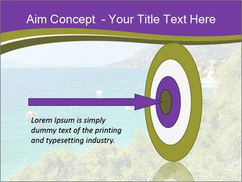 Mediterranean Coastline PowerPoint Template - Slide 83