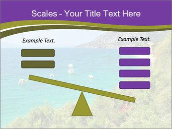 Mediterranean Coastline PowerPoint Template - Slide 89