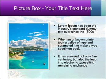 French Coastline PowerPoint Template - Slide 13
