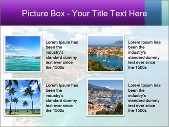 French Coastline PowerPoint Template - Slide 14